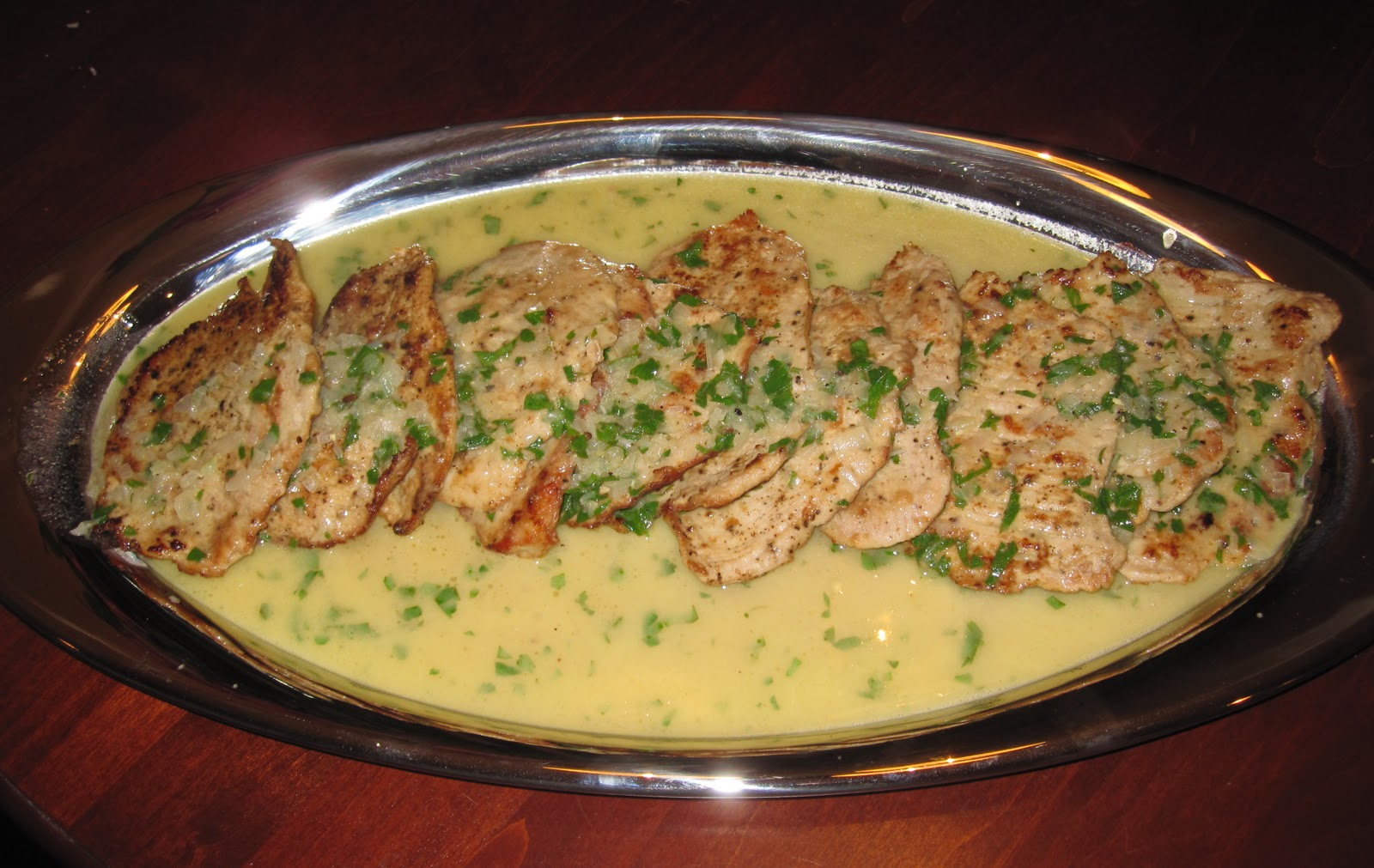 with lemon basil cream sauce veal scaloppine with lemon a popular ...